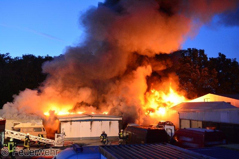 Barsbüttel Feuer